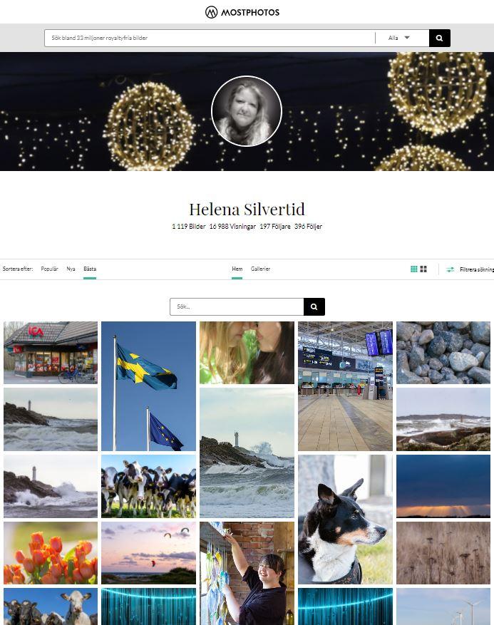 Webbsida med Silvertid stockphotos
