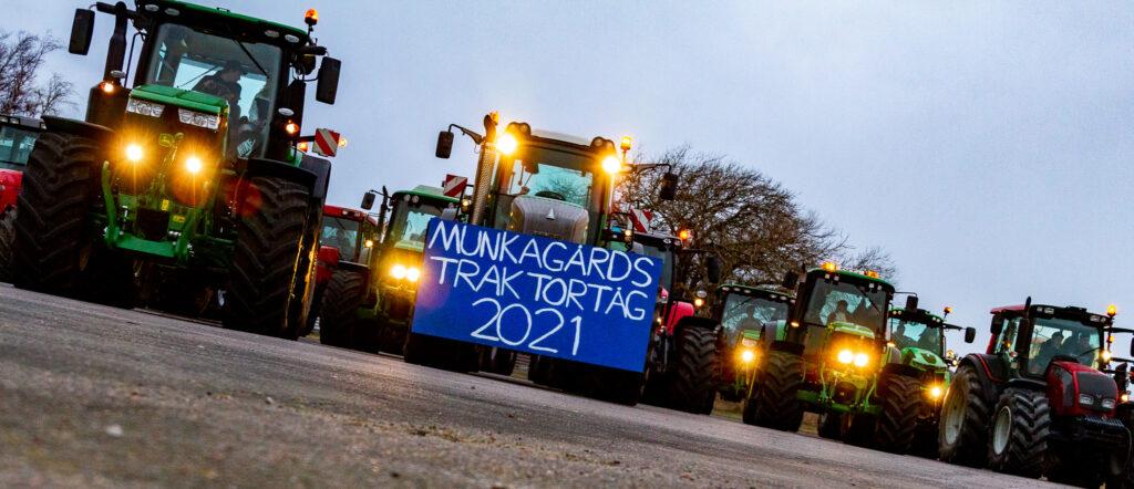 Munkagårdsgymnasiets Traktortåg 2021